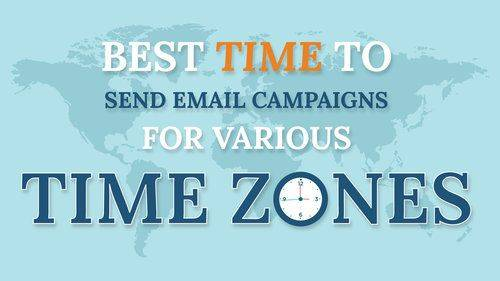 Infographic: Best Time to Send Email Campaigns for Various Countries