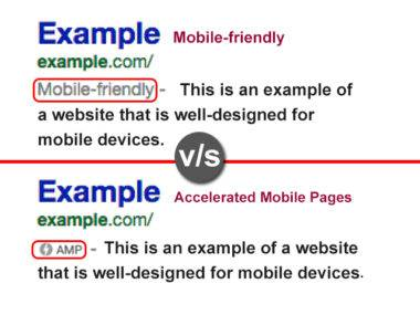 mobile vs amp