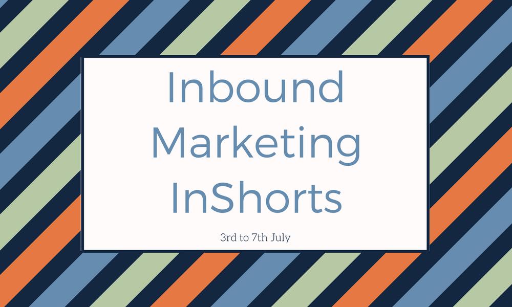 Inbound Marketing InShorts